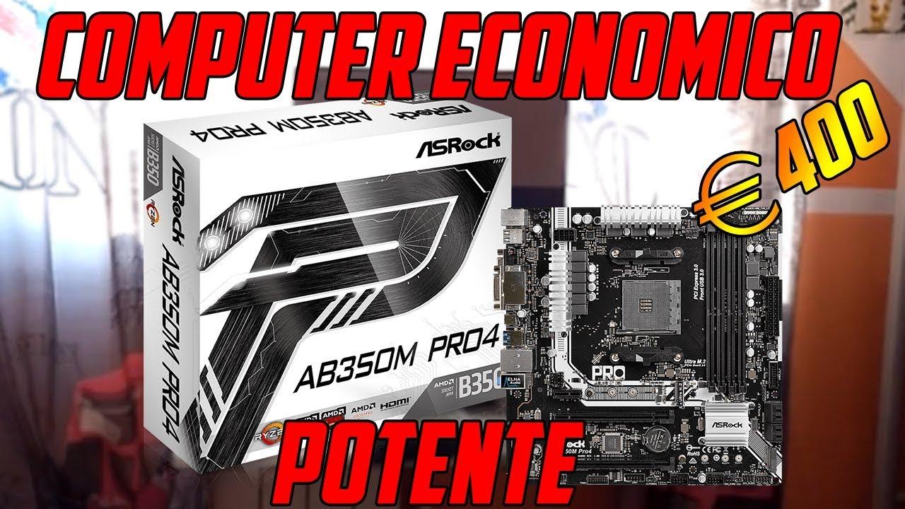 COME COSTRUIRE UN COMPUTER ECONOMICO da €400 CON UN PROFESSIONISTA| SCHEDA MADRE| PARTE 1