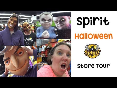 Follow Me Around 🎃 Zombie Frap & Spirit Halloween Store | Florida VLOG