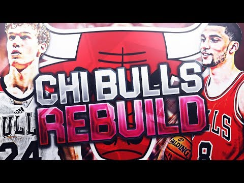 REBUILDING THE CHICAGO BULLS! SIGNING A FORMER MVP?!? NBA 2K18 MY LEAGUE
