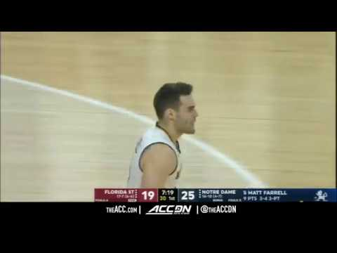 Florida State vs Notre Dame College Basketball Condensed Game 2018