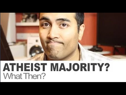 What happens when atheists are no longer a minority?