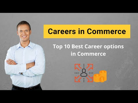 Best career options in commerce