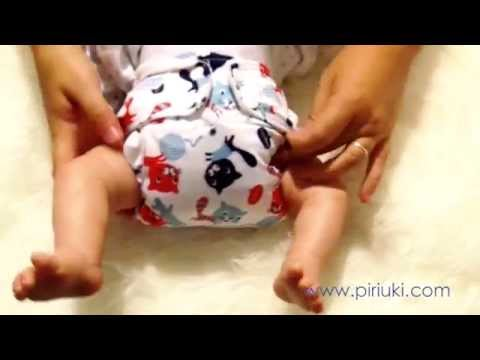how to put on a diaper on a baby