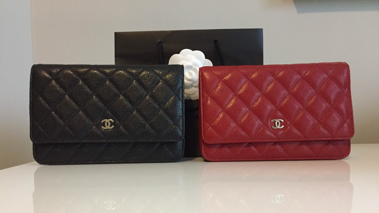 7865af3e5466 Chanel WOC Review, Wear and Tear, and What's In My Bag! Lux Purse Love