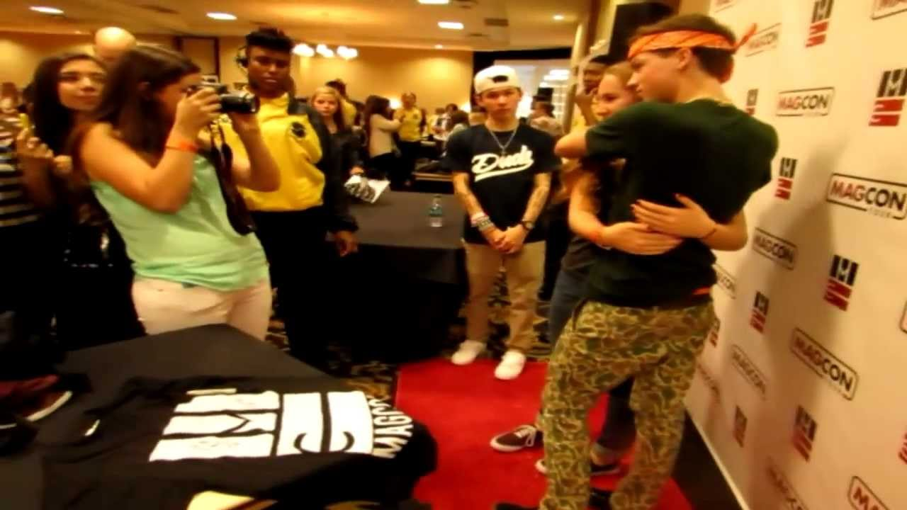 A Day With Taylor Caniff Magcon Dallas 2013 Youtube