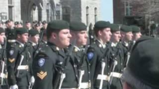 Fusiliers de Sherbrooke, 19 avril 2008: VIDÉO