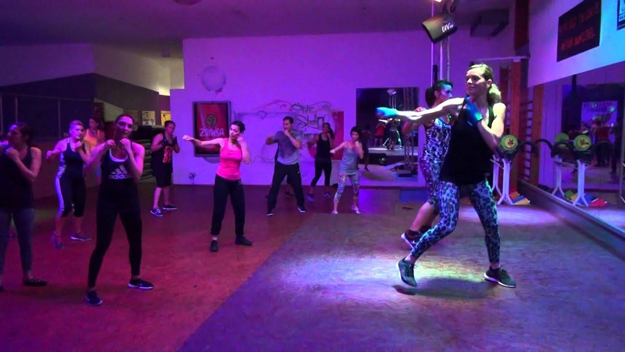 Tae bo avec st phanie the studio fitness nov 2015 for Salon fitness