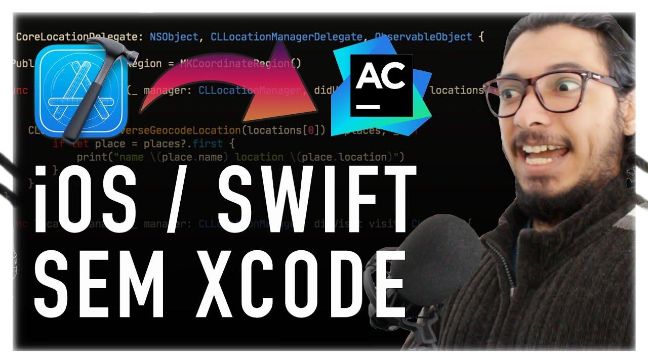 APPCODE: CRIANDO APLICATIVO iOS / SWIFT SEM XCODE!