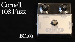 Cornell 108 Fuzz (Silicon BC108 Fuzz Face)