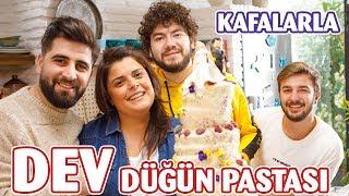 🎂 @Kafalar  ile 20 Katlı Dev Düğün Pastası Yaptık | K…