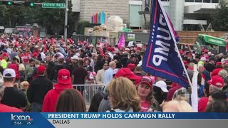 PREVIEW: Pres. Trump to hold rally in Dallas