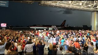 FULL EVENT: Donald Trump Holds MASSIVE Rally in Melbourne, FL 9/27/16