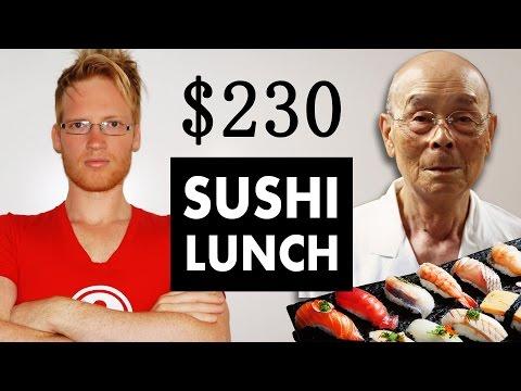 Sukiyabashi Jiro $230 Lunch - BEST sushi in the world
