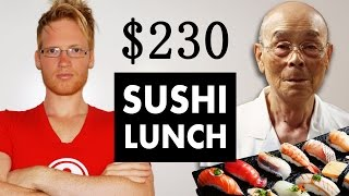 Sukiyabashi Jiro $230 Lunch - BEST sushi in the world thumbnail