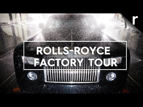 Rolls-Royce factory tour: How the Phantom, Wraith and Ghost are born