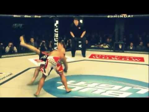 O soto gari Yoshihiro Akiyama (MMA)