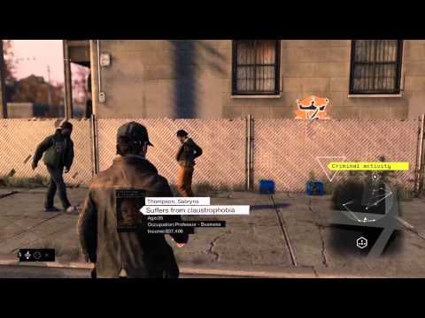 Watch_Dogs 14 Minutes Gameplay Demo [UK]