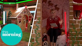 The UK&#39s Biggest Gingerbread House Is In The Studio!  This Morning