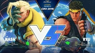 SFV: RZR Infiltration vs Tokido - CEO 2016 Grand Final - CPT 2016