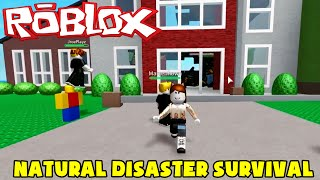 ROBLOX: FLEEING NATURAL DISASTERS! C/Marcio (Natural Disaster Survival)