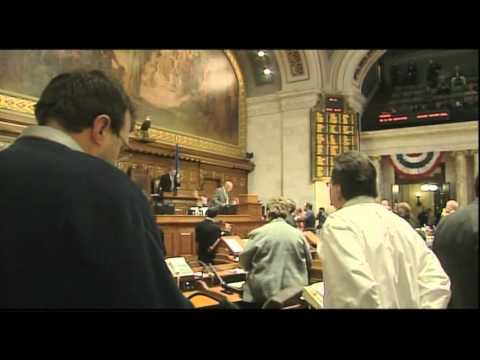 UNCUT: Assembly Calls Vote & Passes Budget Repair Bill