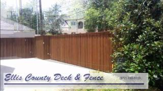 Wood Fences, Arbors, Pergolas By Ellis County Deck And Fence