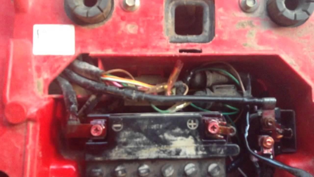 1990 Honda Fourtrax 300 Wiring Diagram 3 Phase Start Stop Switch Fixing My Four Wheeler Youtube