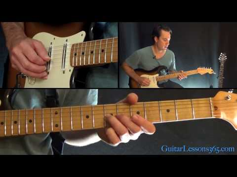 Waste A Moment Guitar Lesson - Kings of Leon