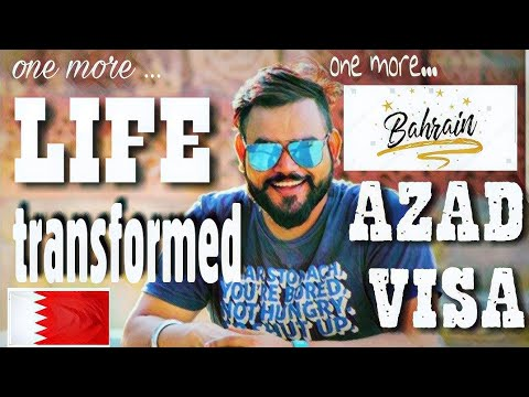 ONE more AZAD VISA for Bahrain. One more Life about to TRANSFORM.