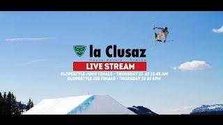 LIVE STREAM | Slopestyle JIB Finals | La Clusaz