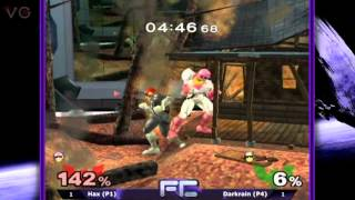 MELEE-FC 10R - Singles Top 8: Hax (Captain Falcon) vs. Darkrain (Falcon) - SSBM - SSBM