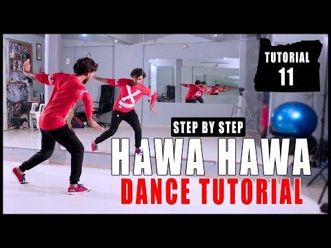 Hawa Hawa Dance Tutorial Step By Step | Vicky Patel Choreography | Bollywood