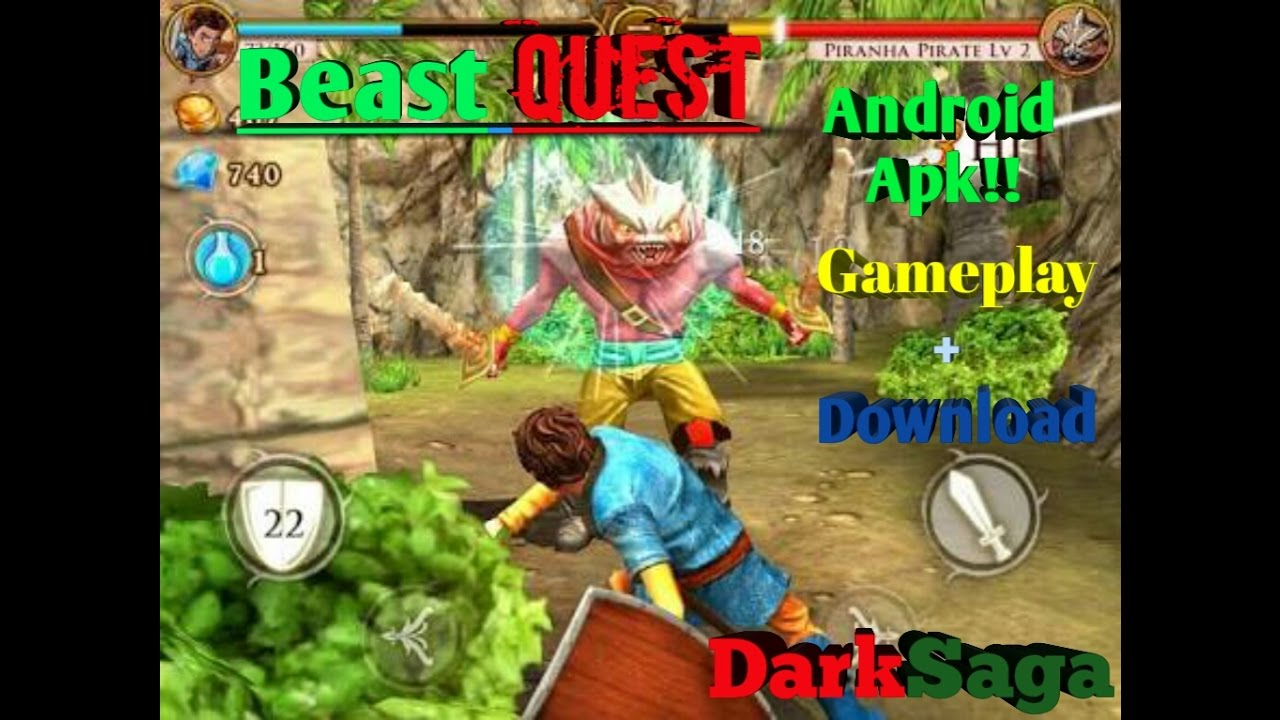 beast quest um ótimo rpg gameplaydownloadapk  youtube