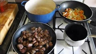 How To Cook Venison.venison Stew/casserole In Red Wine.