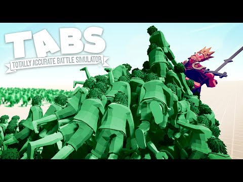TABS - THE DEAD HAVE TAKEN OVER! Who Can Survive The Zombies? - Totally Accurate Battle Simulator