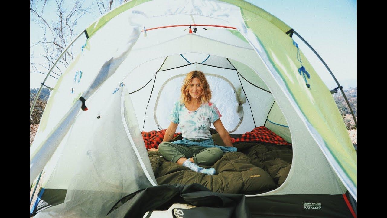 Camp StreicherHair: Tent Building