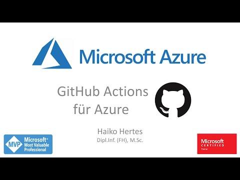 Microsoft Azure - Mit GitHub Actions ARM Templates ausrollen