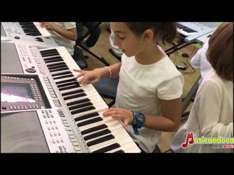 Una Danza Renacentista - Mi Teclado 3 -  Acordes escuela de música de Leganés
