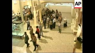IRAQ: BAGHDAD: MUSEUM REOPENS AFTER 10 YEARS