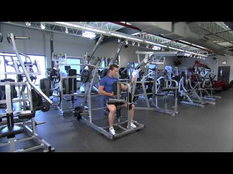 Hammer Strength Plate-Loaded Front Lat Pulldown Instructions