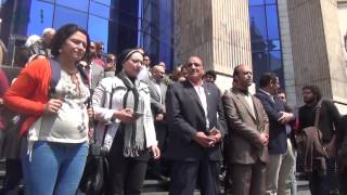 مصر العربية    صحفيون على سلالم النقابة بعد حكم حبس قلاش: