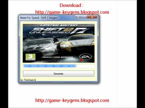 Download serial number for nfs shift 2 unleashed – tadeslesi
