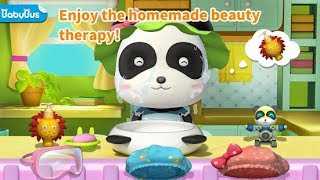 Baby Panda Cleaning Fun. Children Learn Lots Of Useful Tricks. Babybus Kids Games