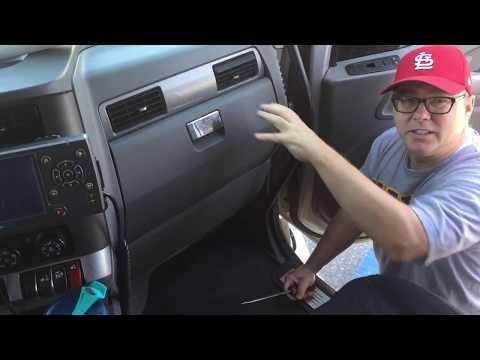 2016 Kenworth T680 Cab Recirc Filter Change
