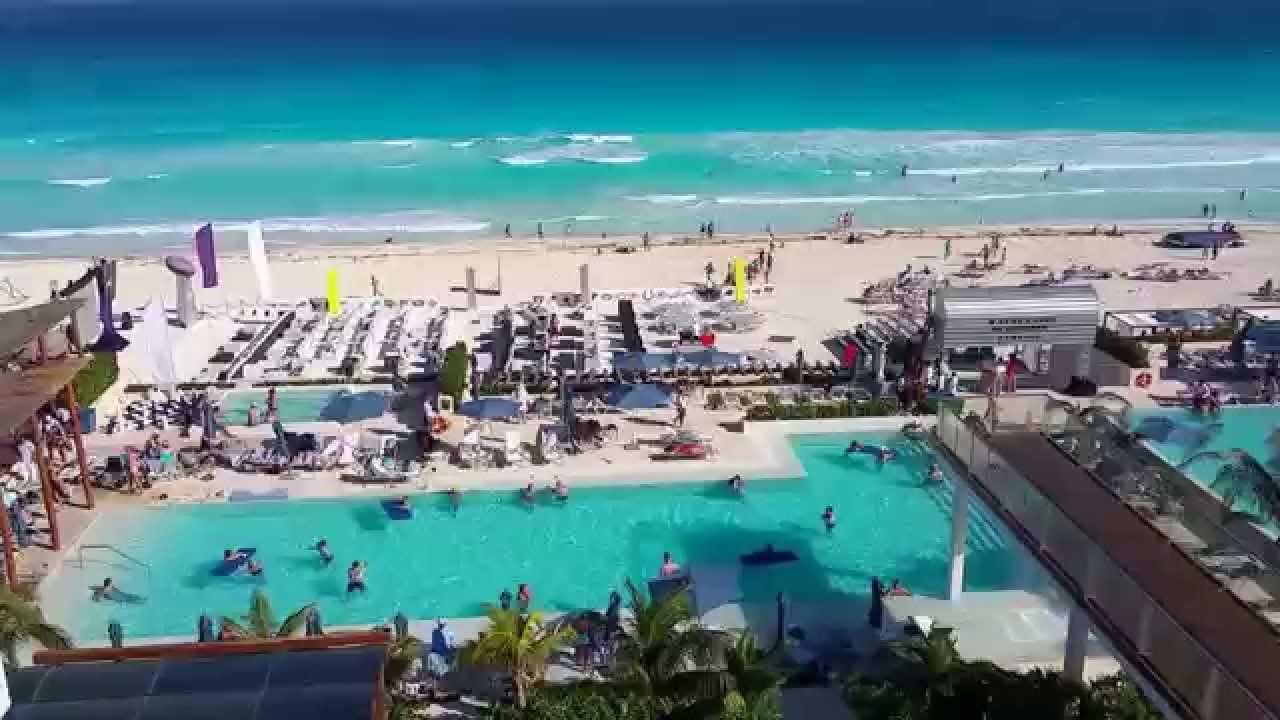 Secrets The Vine Cancun Honeymoon Suite Ocean Front Video Tour You