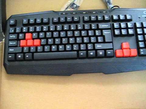 Circle Rude Gaming Keyboard