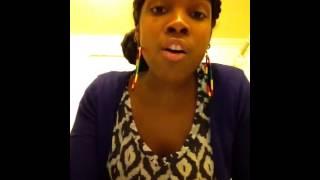 Me Singing ,Bye Bye Bye -Alaine ,