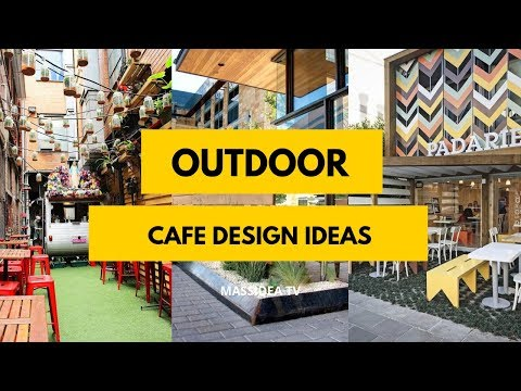 50+ Relaxing Outdoor Cafe Design Ideas To Inspire You
