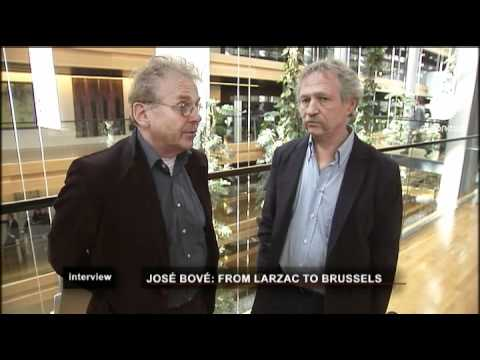 euronews interview - José Bové, de Larzac a Bruselas