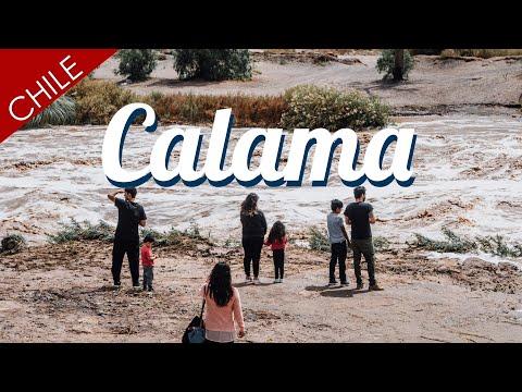 Cuando Llueve En El Desierto // Calama, Chile
